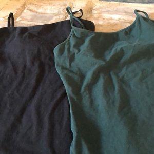 Express Sexy Stretch Camisole Bundle Black Green M